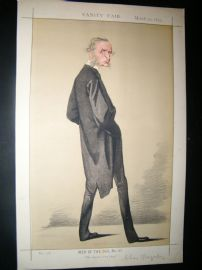 Vanity Fair Print 1872 Rev. Canon Kingsley